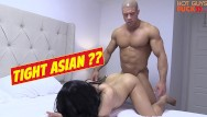 Bondage girl fucking dog Superstar bodybuilder fucks his roomates asian girl. damn dog