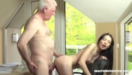 Senior citizen facial breakout pimples Senior doctor gives hot patient sexual treatment