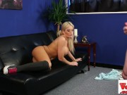 stunning busty brit sexy babe teasing sexy horny cock