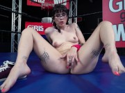 GIRLSGONEWILD - Young Southern Brunette With Incredible Body Masturbating