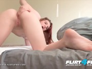 Flirt4Free - Olivia Byrne - College Girl Next Door with Major Daddy Fetish