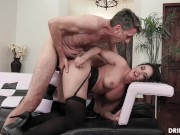 Big Tits MILF Sheena Ryder Loves Anal And Having a Rough Cock Pounding