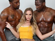Sydney Cole Wants To Fuck Piano Movers' Big Black Cock