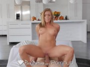 PUREMATURE Busty House Wife Christens House The Right Way