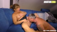 Celebrity sex tapes copyright Amateureuro - rough amateur sex on tape with german amateur couple