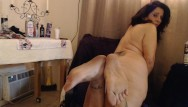 Fat ass farting Pathetic slave made to clean mature dirty ass big dirty feet w/ farting
