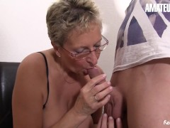 Amateureuro - Chesty German Milf Penetrated Stiff By Her Step-nephew