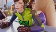 Adult nano mask filters Dva nano doggystyle overwatch animation 3d with sound
