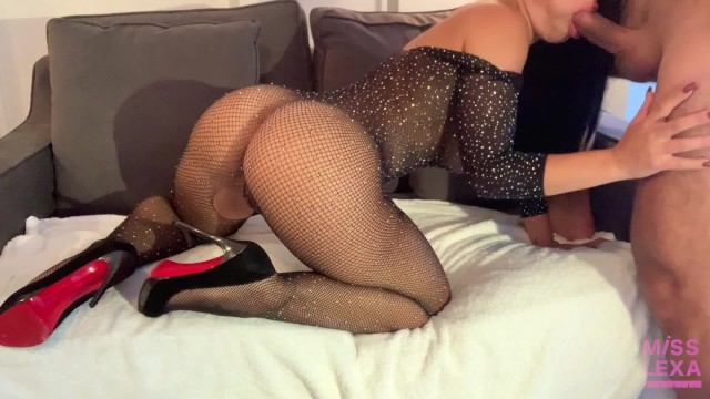 Trophy Wife CHEATS on her husband with a younger cock