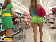 BANGBROS - Super Hot White Girls With Delicious Booties On Ass Parade!