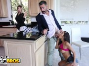 BANGBROS - Young Step Daughter Gianna Dior Rides Step Father's Big Cock