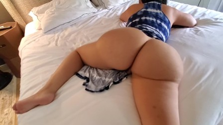 Stranger gets a lucky dick appointment with Crystal Lust in tight dress