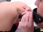 OldNannY Two Mature Lesbians and Toys