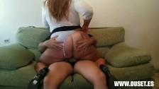 Naughty Big Booty Secretary Hooks Up With Her Boss
