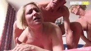 Cock all Amateureuro - german slutty milfs drain a big cock of all the cum
