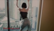 Ff nylons busty Ffstockings - exhibitionist julia at the window