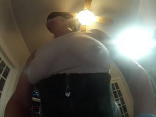SUBMISSIVE HUSBAND- Nasty Strapon in Texas
