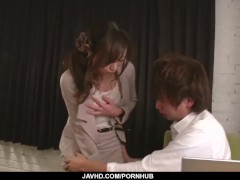 shiona suzumori sucks and fucks in hot office xxxShiona Suzumori sucks and