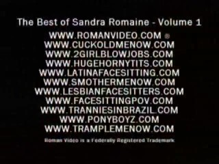 sandra romaine best clips facesitting smothering big ass rimming