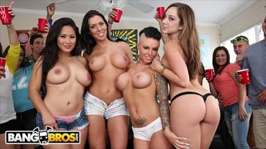 Mature women orgy porn