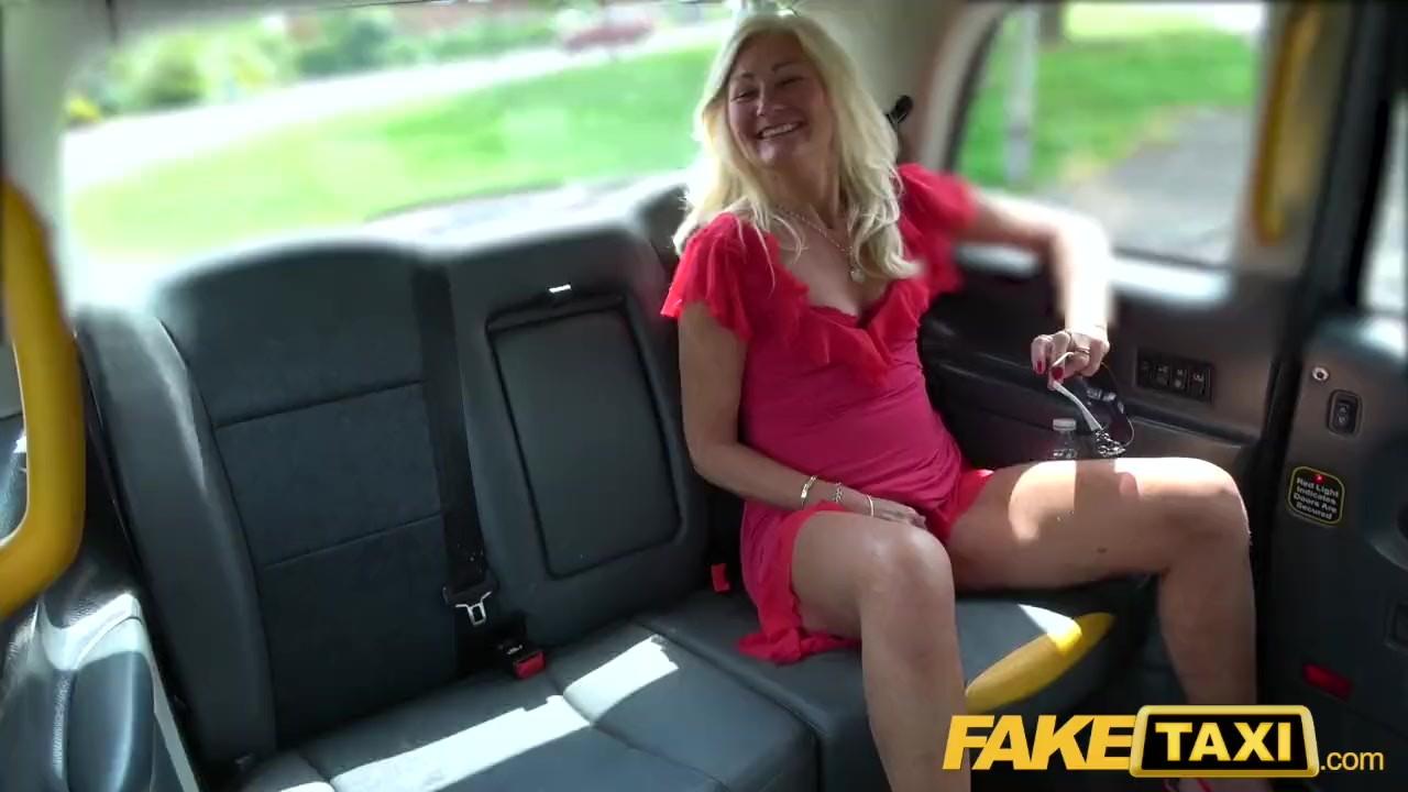 Taxi cab upskirt