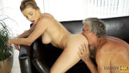 Swimming sex video Daddy4k. old and virtual sex in the villa after swimming in the pool