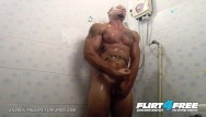 Free pics of gay athletes with bulges Flirt4free - andrew phillips - athletic hottie showers off his ripped body