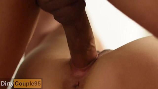 Step dad pumps his load and impregnates his step daughter CLOSE UP CREAMPIE