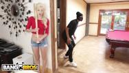 Bbc teen girls Bangbros - young, skinny white girl elsa jean taking bbc from burglar