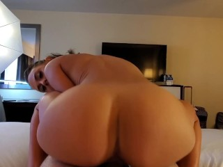 Wild Big Booty Maria Jade Bangs Her First Fan