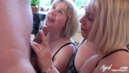 Lady sucking boys cock Agedlove three ladies occupying cock