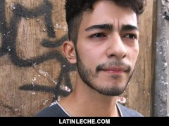 Latinleche - Super-cute Latino Hipster Receives A Thick Explosion Thick Facial