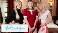 Sirens lesbian porn Teen witch casts love spell on busty step-aunts- girlsway