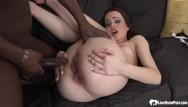 Interracial sex slut Horny dude got to ram a dirty little slut