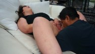 Big cocks into wet pussy - Nose diving into some wet bbw pussy