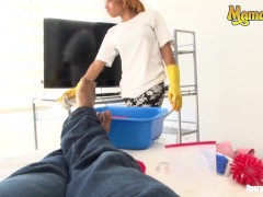 Mamacitaz - Fledgling Colombian Maid Enticed And Poked By Naughty Client