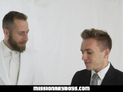 Missionaryboyz - Stern Priest Ravages A Splendid Twunk Boy