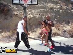 Bangbros - Rico Strenuous & Prince Yahshua Dual Screw Phat Ass White Girl Lisa Ann
