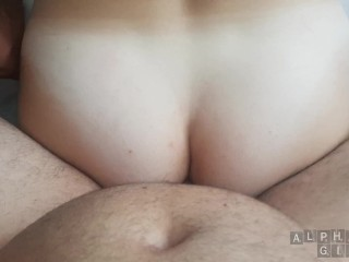 Anal POV Tight Girl Can't Handle How Deep His Cock Goes