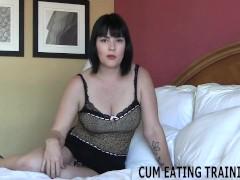 Cei Female Dom And Jizz Gobbling Fetish Videos