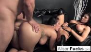 Lexxi rain nude pics 3-way gonzo energetic sex with alison