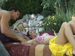 Hot Black-haired Bridgette Amore Beaver Torn Up By Thick Prick Sex Industry Star Talon!