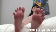 Fetish foot porn video Foot fetish and femdom feet worshiping videos