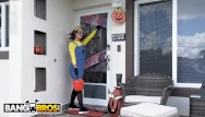 Adult witch halloween costume Bangbros - evelin stone gets to suck on a big popsicle this halloween