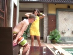 Sexy asian girl likes to get pounded hard