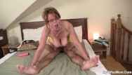 Milf playing She finding milf playing with her boyfriends big cock
