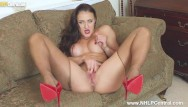 Boob girl summer Horny big boobs brunette cleo summers jerks off in ripped sheer pantyhose