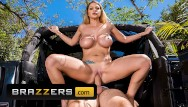 Naked at the carwash Brazzers - big tit brooklyn chase gives sexy carwash