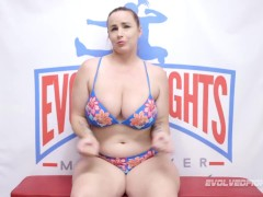 Big Jugged Bella Rossi All Girl Lovemaking Grappling With Sophia Grace