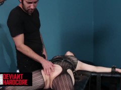 Deviant Xxx - Marionette Cent Pax Receives Strapped Up And Fellated Hard